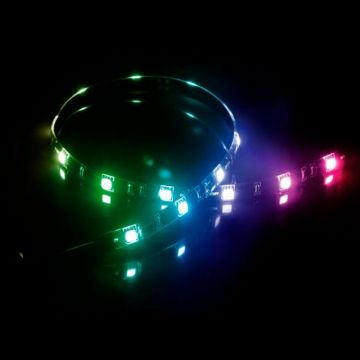 Akasa Vegas MB RGB LED Light Strip, 50cm, 12V, Molex 4 Pin